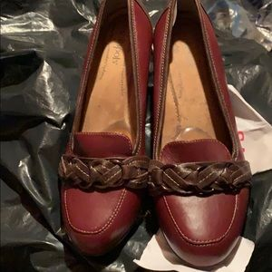 Gently used wedge shoes